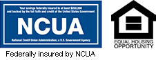 Federally insured by NCUA | Equal Housing Lender