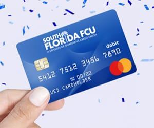 A VISA credit and Debit card