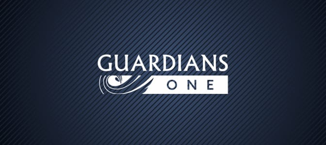 The Guardians One logo.
