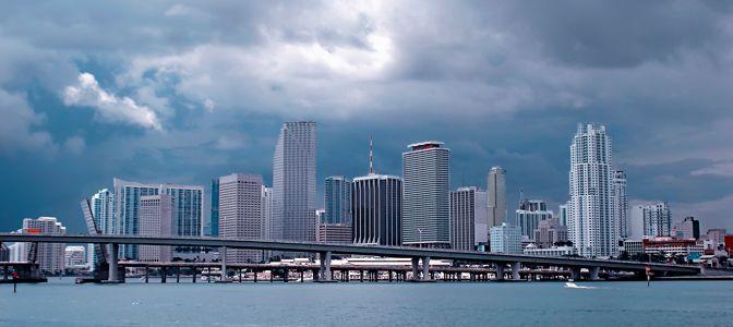 Miami, FL skyline